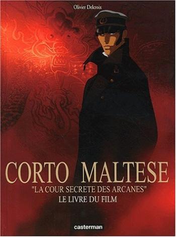 Couverture de l'album Corto Maltese - HS. La Cour secrète des Arcanes