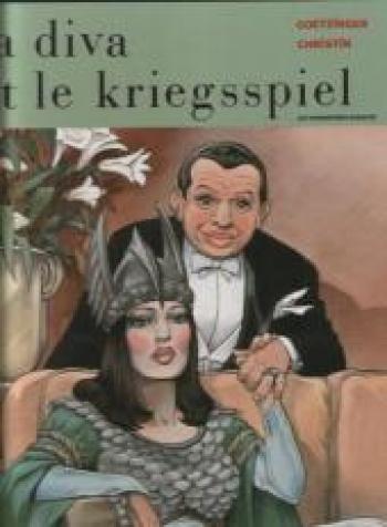 Couverture de l'album La Diva et le Kriegspiel (One-shot)