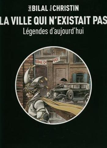 Couverture de l'album Légendes d'aujourd'hui - 3. La ville qui n'existait pas