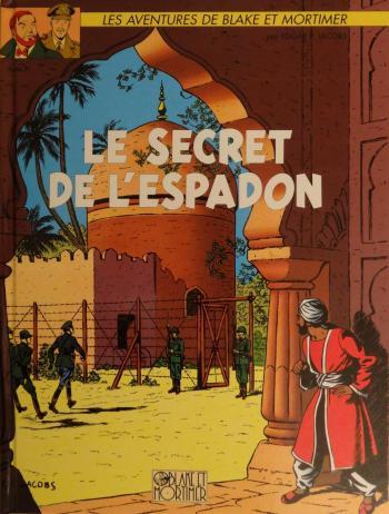 Couverture de l'album Blake et Mortimer (Blake et Mortimer) - 2. Le Secret de l'Espadon - Tome II