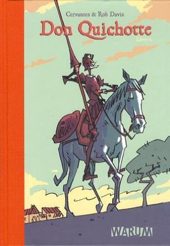 Couverture de l'album Don Quichotte (Davis) - 1. Livre 1