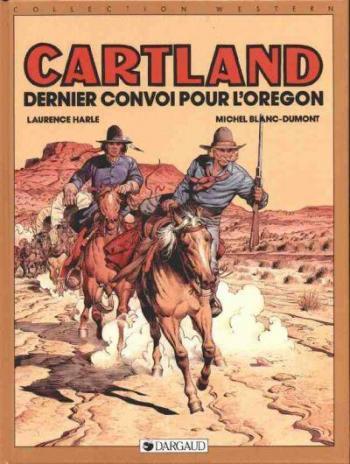 Couverture de l'album Jonathan Cartland - 2. Dernier Convoi pour l'Oregon