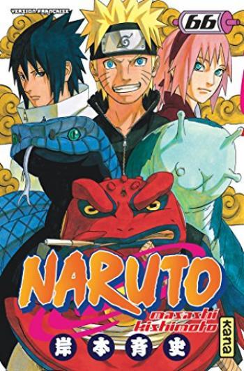 Couverture de l'album Naruto - 66. Tome 66