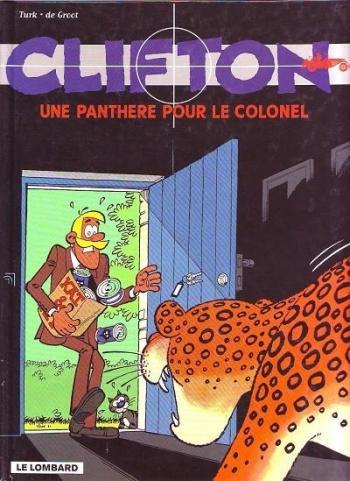Couverture de l'album Clifton - 6. Une panthère pour le colonel