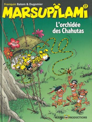 Couverture de l'album Marsupilami - 17. L'Orchidée des Chahutas