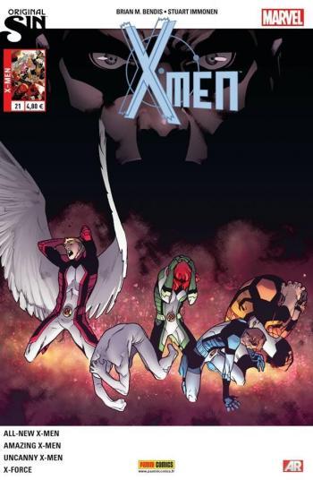 Couverture de l'album X-Men (V4) - 21. Le Testament de Charles Xavier