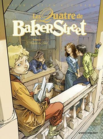 Couverture de l'album Les Quatre de Baker Street - 6. L'Homme du Yard