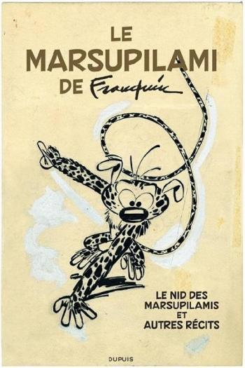Couverture de l'album Marsupilami - HS. Version originale : Marsupilami de Franquin