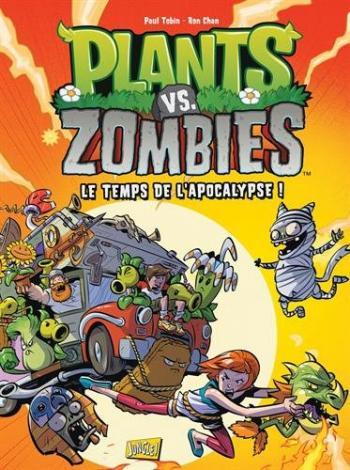 Couverture de l'album Plants vs. Zombies - 2. Le Temps de l'apocalypse !