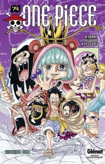 Couverture de l'album One Piece - 74. Je serai toujours à tes côtés