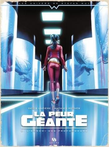 Couverture de l'album La Peur géante - 2. L'Ennemi des profondeurs