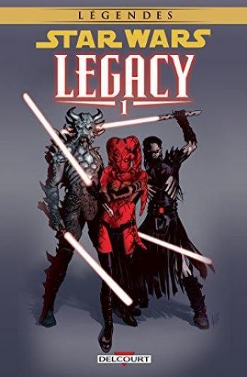 Couverture de l'album Star Wars - Legacy - 1. Anéanti