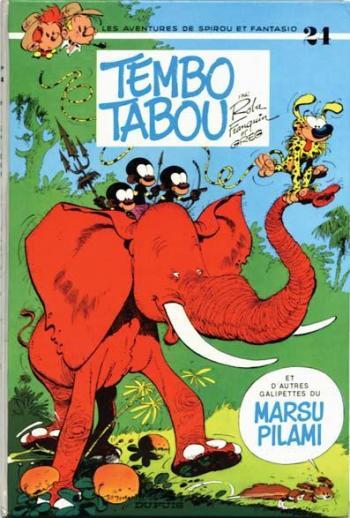 Couverture de l'album Spirou et Fantasio - 24. Tembo tabou