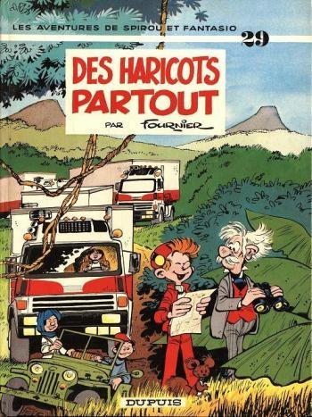 Couverture de l'album Spirou et Fantasio - 29. Des haricots partout