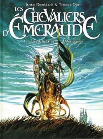 Couverture de l'album Les Chevaliers d'Émeraude - 1. Les Enfants Magiques
