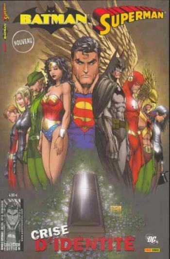 Couverture de l'album Batman - Superman - 1. Crise d'identité (1)