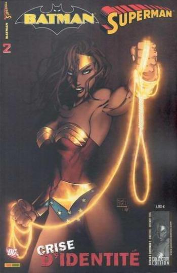 Couverture de l'album Batman - Superman - 2. Crise d'identité (2)