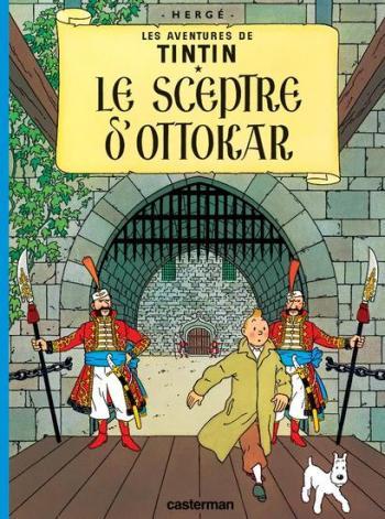 Couverture de l'album Les Aventures de Tintin (Petit format) - 8. Le Sceptre d'Ottokar