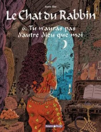 Couverture de l'album Le Chat du Rabbin - 6. Tu n'auras pas d'autre dieu que moi
