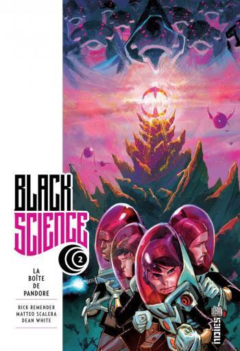 Couverture de l'album Black Science - 2. La Boîte de Pandore