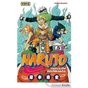 Couverture de l'album Naruto - 5. Tome 5