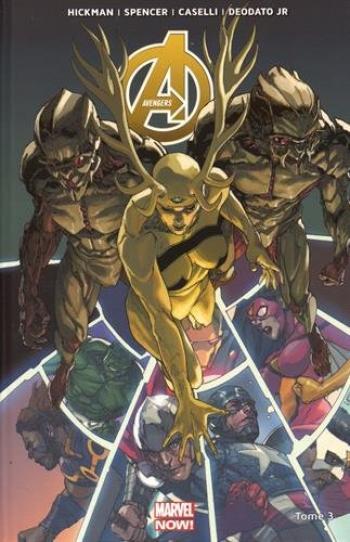 Couverture de l'album Avengers (Marvel Now!) - 3. Prélude à Infinity