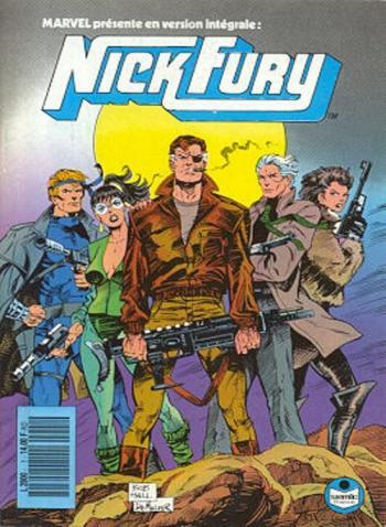 Couverture de l'album Nick Fury (Semic) - 1. Le Serpent du chaos I