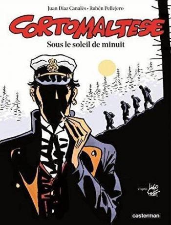 Couverture de l'album Corto Maltese (Casterman 2015) - 13. Sous le soleil de minuit