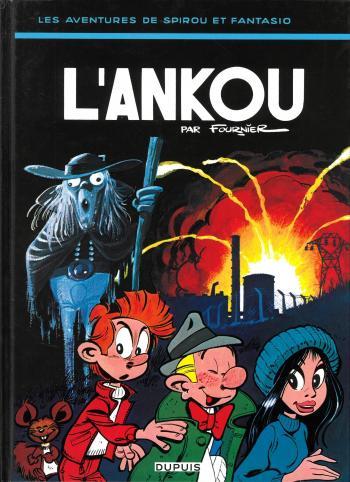 Couverture de l'album Spirou et Fantasio - 27. L'Ankou