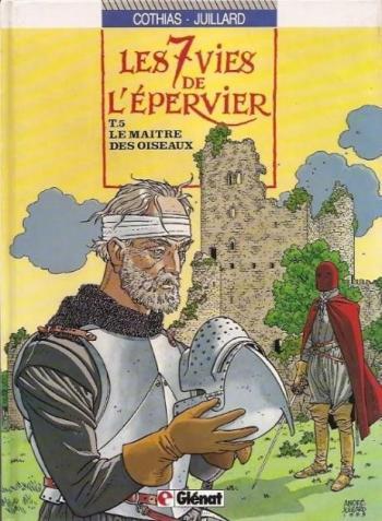 Couverture de l'album Les 7 Vies de l'Épervier - 5. Le maître des oiseaux