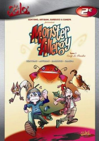 Couverture de l'album Monster Allergy - 1. Coup de poudre