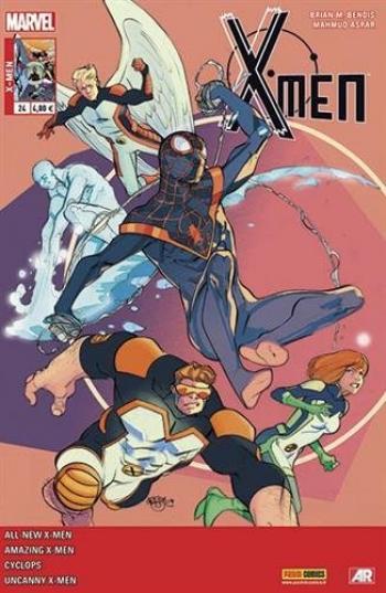 Couverture de l'album X-Men (V4) - 24. L'Aventure ultime