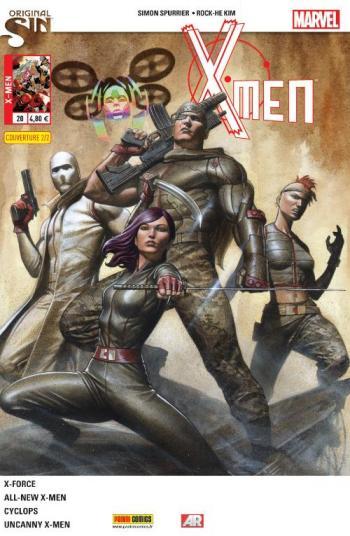 Couverture de l'album X-Men (V4) - 20. Les habitudes ont la vie dure