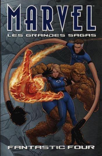 Couverture de l'album Marvel - Les Grandes Sagas - 10. Fantastic Four
