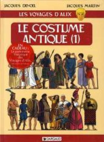 Couverture de l'album Les Voyages d'Alix - 8. Le Costume antique (1)