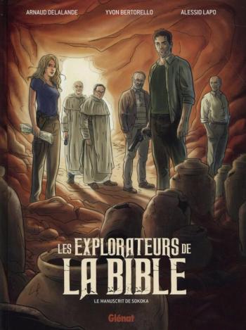 Couverture de l'album Les explorateurs de la Bible : le manuscrit de Sokoka (One-shot)
