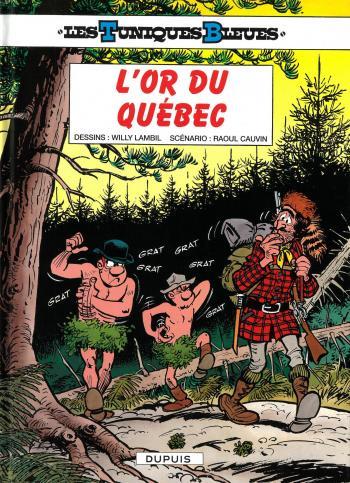 Couverture de l'album Les Tuniques bleues - 26. L'or du Québec