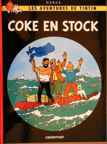 Couverture de l'album Les Aventures de Tintin - 19. Coke en stock