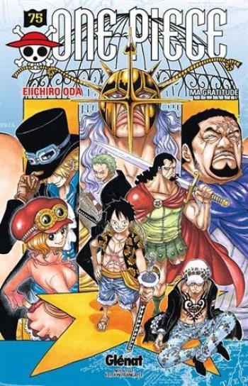 Couverture de l'album One Piece - 75. Ma gratitude