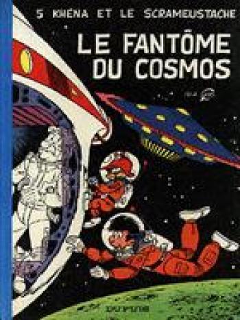 Couverture de l'album Le Scrameustache - 5. Le fantôme du Cosmos