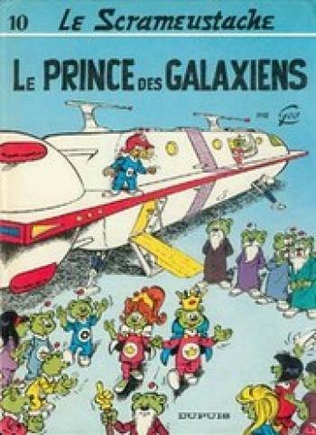 Couverture de l'album Le Scrameustache - 10. Le prince des Galaxiens