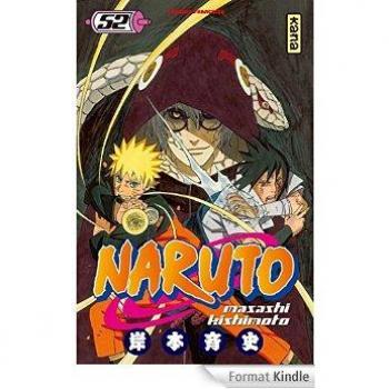 Couverture de l'album Naruto - 52. Tome 52