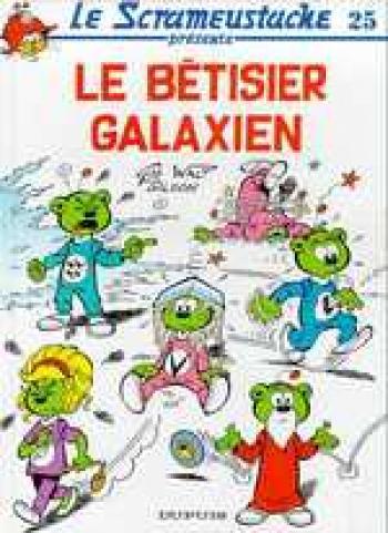Couverture de l'album Le Scrameustache - 25. Le bêtisier galaxien