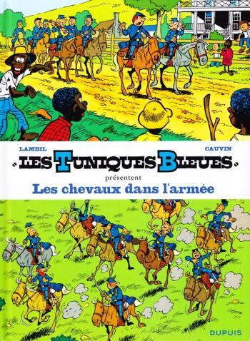 Couverture de l'album Les Tuniques bleues présentent - 2. Les Chevaux dans l'armée