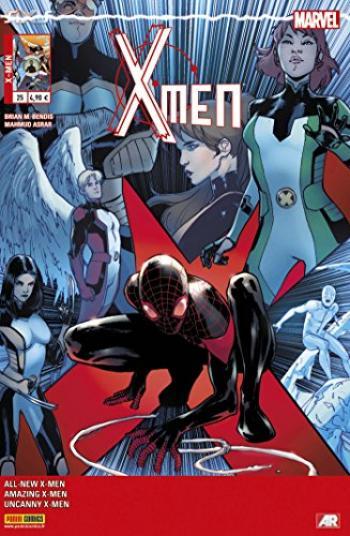 Couverture de l'album X-Men (V4) - 25. L'Aventure ultime (4)