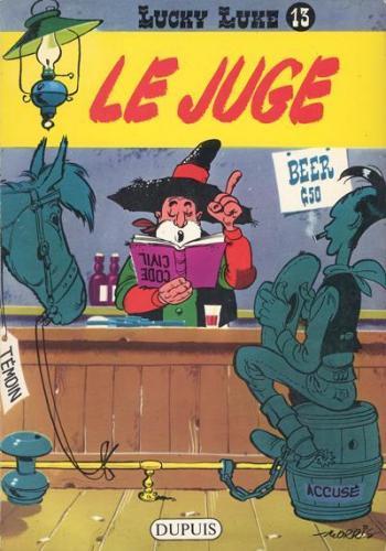 Couverture de l'album Lucky Luke - 13. Le Juge