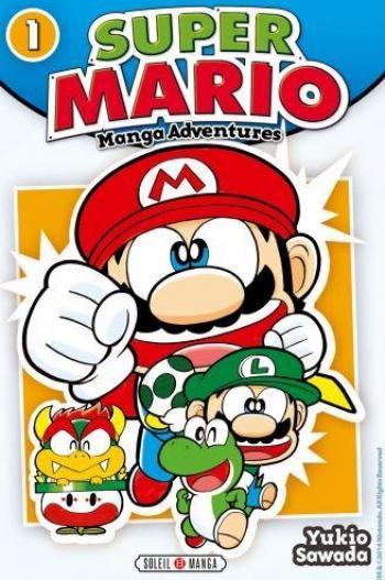 Couverture de l'album Super Mario - Manga Adventures - 1. Manga Adventures - Tome 1