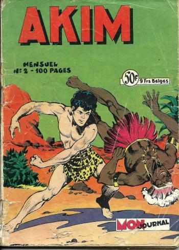 Couverture de l'album Akim - 2. Le Règne de l'inconnu
