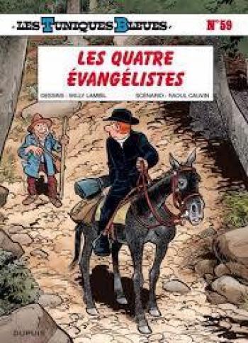 Couverture de l'album Les Tuniques bleues - 59. Les Quatre Évangélistes