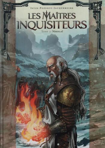 Couverture de l'album Les Maîtres Inquisiteurs - 3. Nikolaï